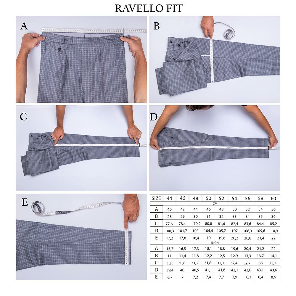 Size Ravello Fit