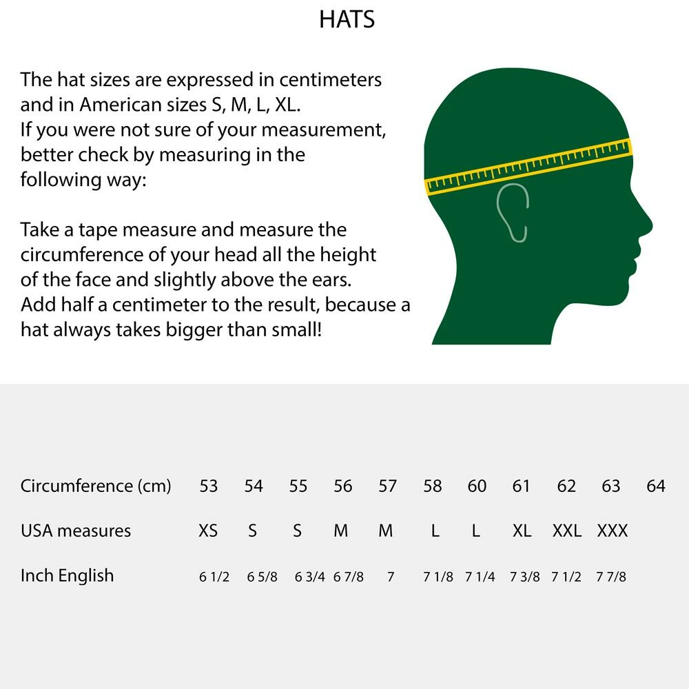 Size Hats
